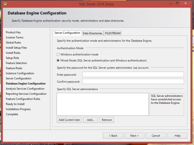 Step-by-Step Installation of Microsoft SQL Server 2014