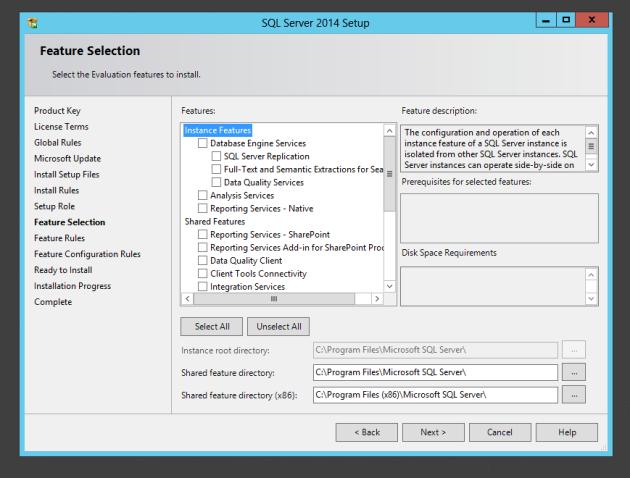 Steps For Installing Sql Server 2014