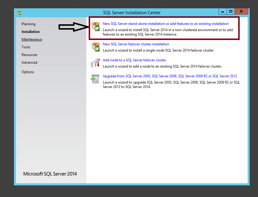 Step-by-Step Installation of Microsoft SQL Server 2014: (3/6)