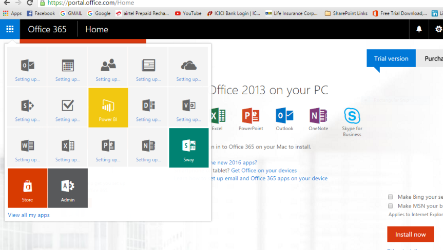download office 365 trial free