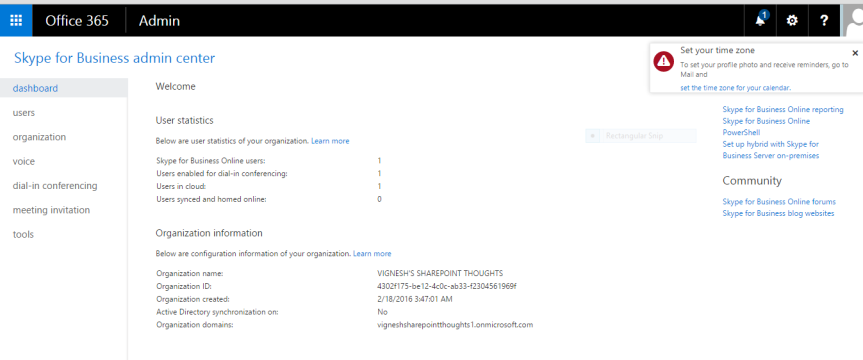 Office365 – Vignesh's SharePoint Thoughts