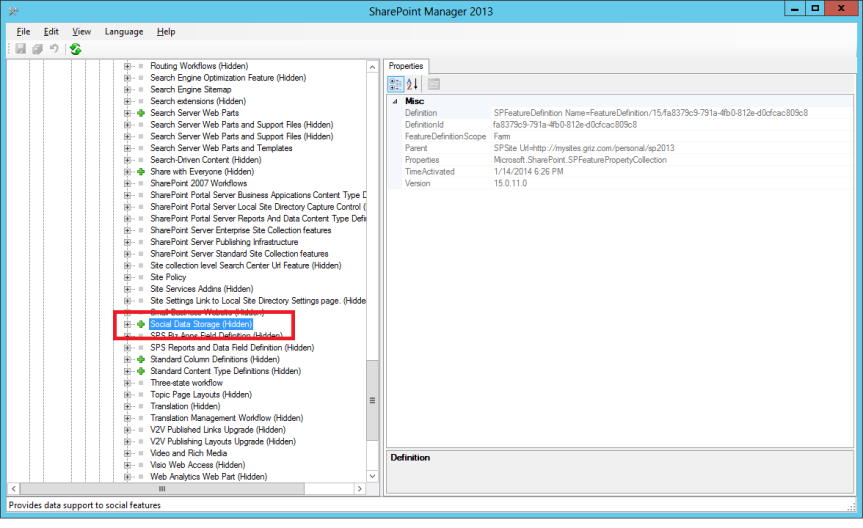 """Demystifying the SharePoint My site """"Social List"""" – Vignesh's"""