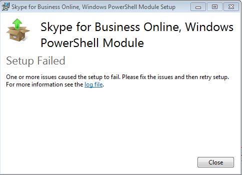 Configuring Windows PowerShell to support SPO management shell