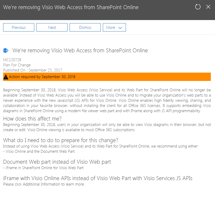 visio web access to be removed from sharepoint online vigneshs sharepoint thoughts - View Visio Online