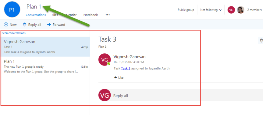 How Email notification works in Microsoft Planner? – Vignesh's